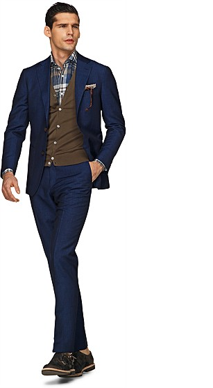 Suit_Blue_Plain_Havana_P3500E
