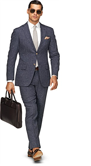 Suit_Blue_Plain_Napoli_P3565