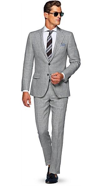 Lazio Grey Check