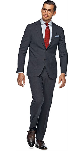 Suit_Grey_Plain_Havana_P3555