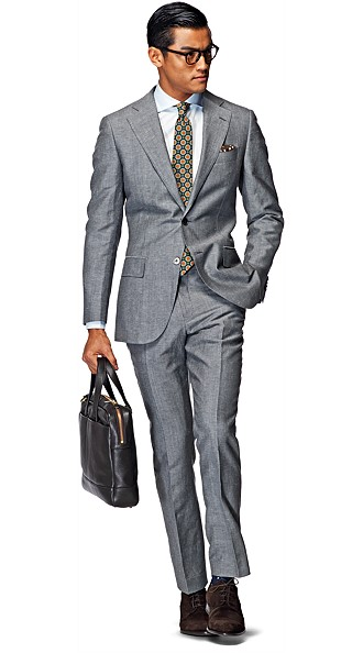 Suit_Grey_Plain_Lazio_P3570