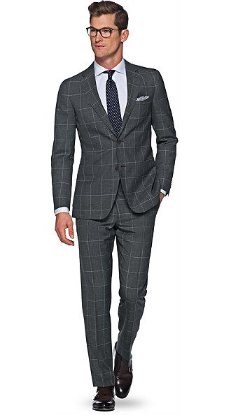 Havana Light Grey Check