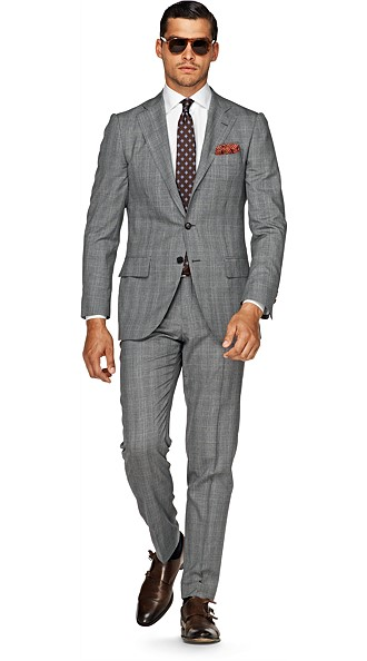 Suit_Light_Grey_Check_La_Spalla_P3510