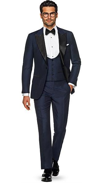 Navy Plain Tuxedo
