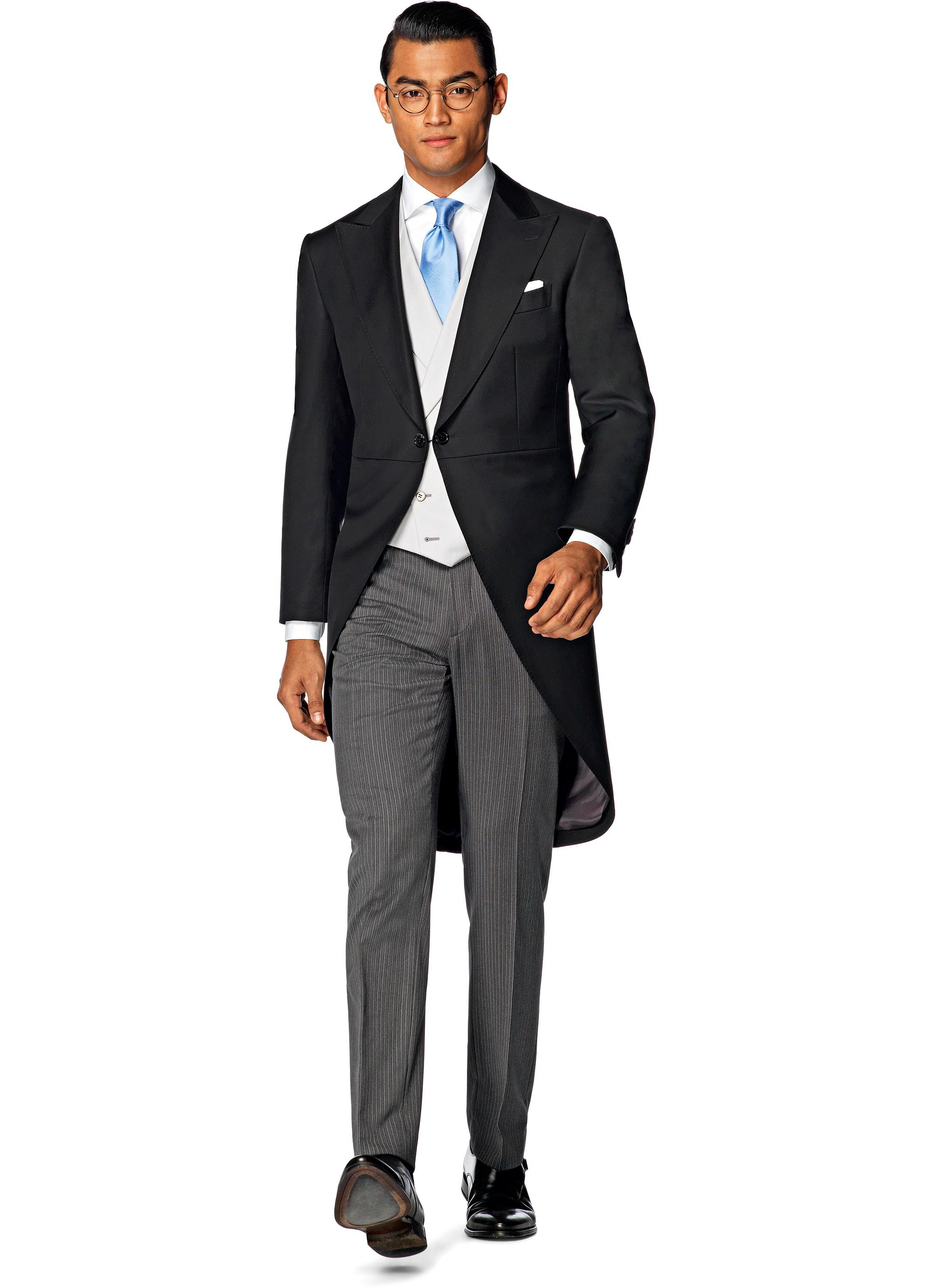 Suit Black Plain Morning Dress Jacq006 | Suitsupply Online Store