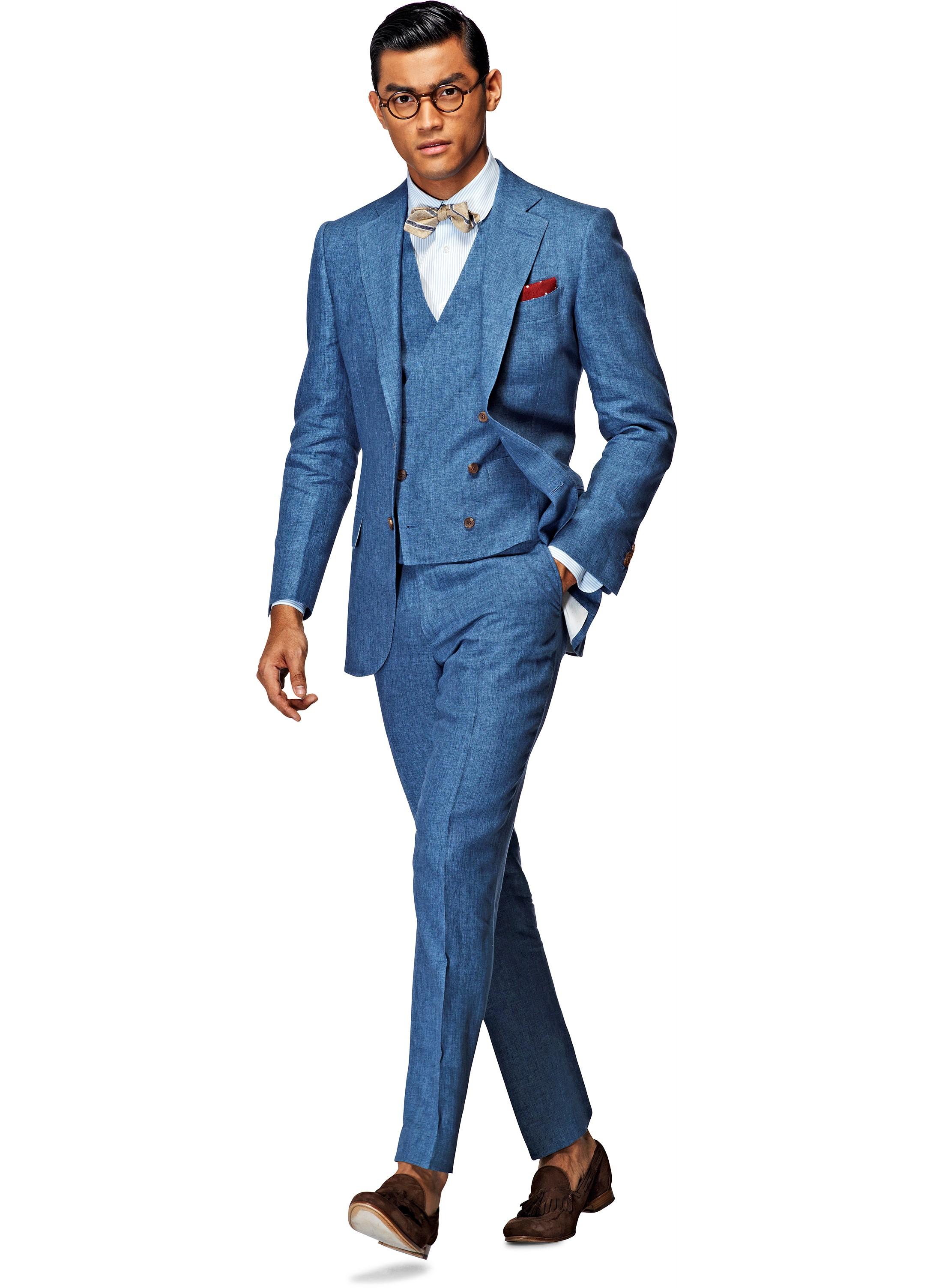 Leinen Suits für Hochzeiten