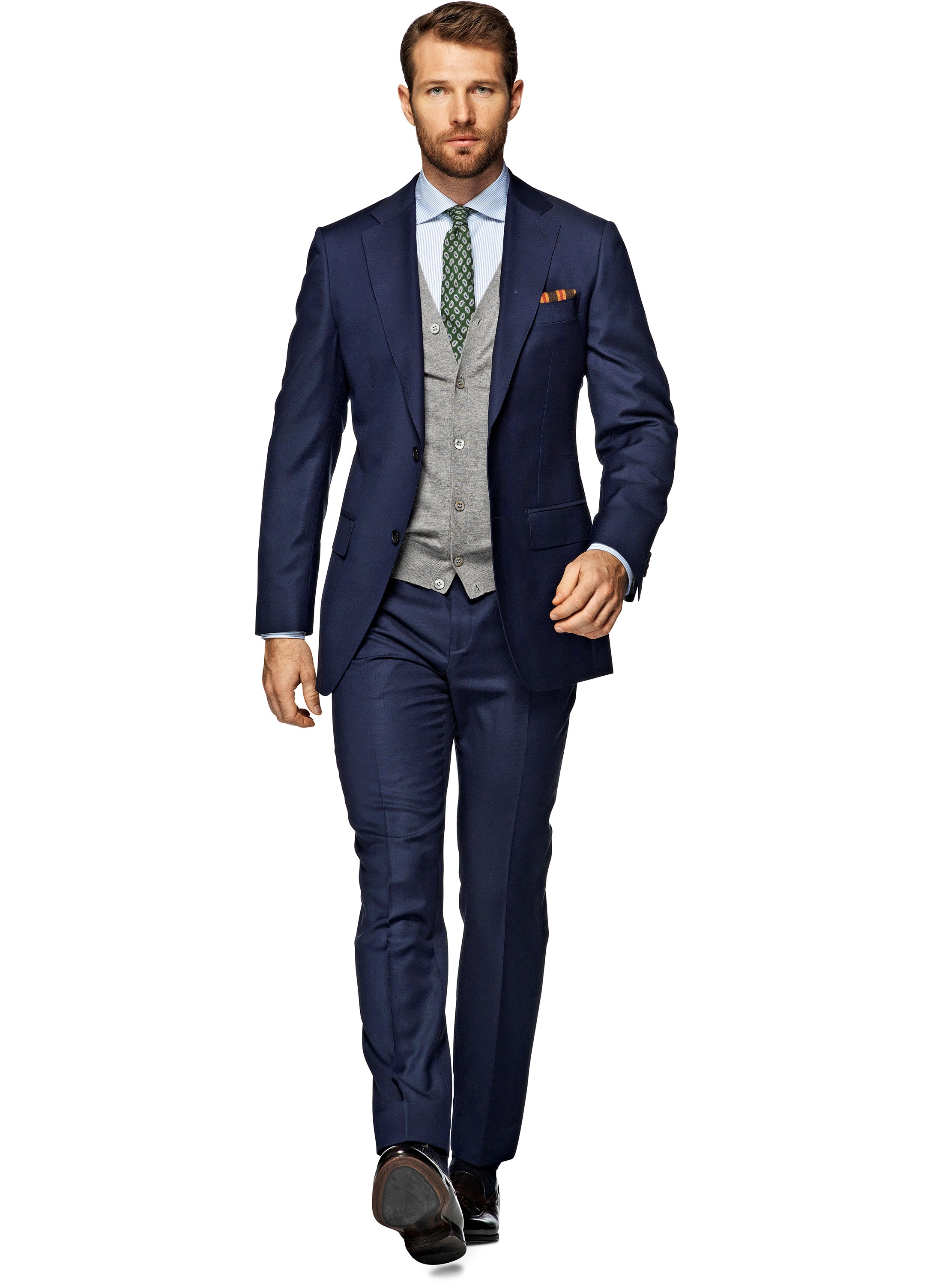 Suitsupply Napoli Suit Blue