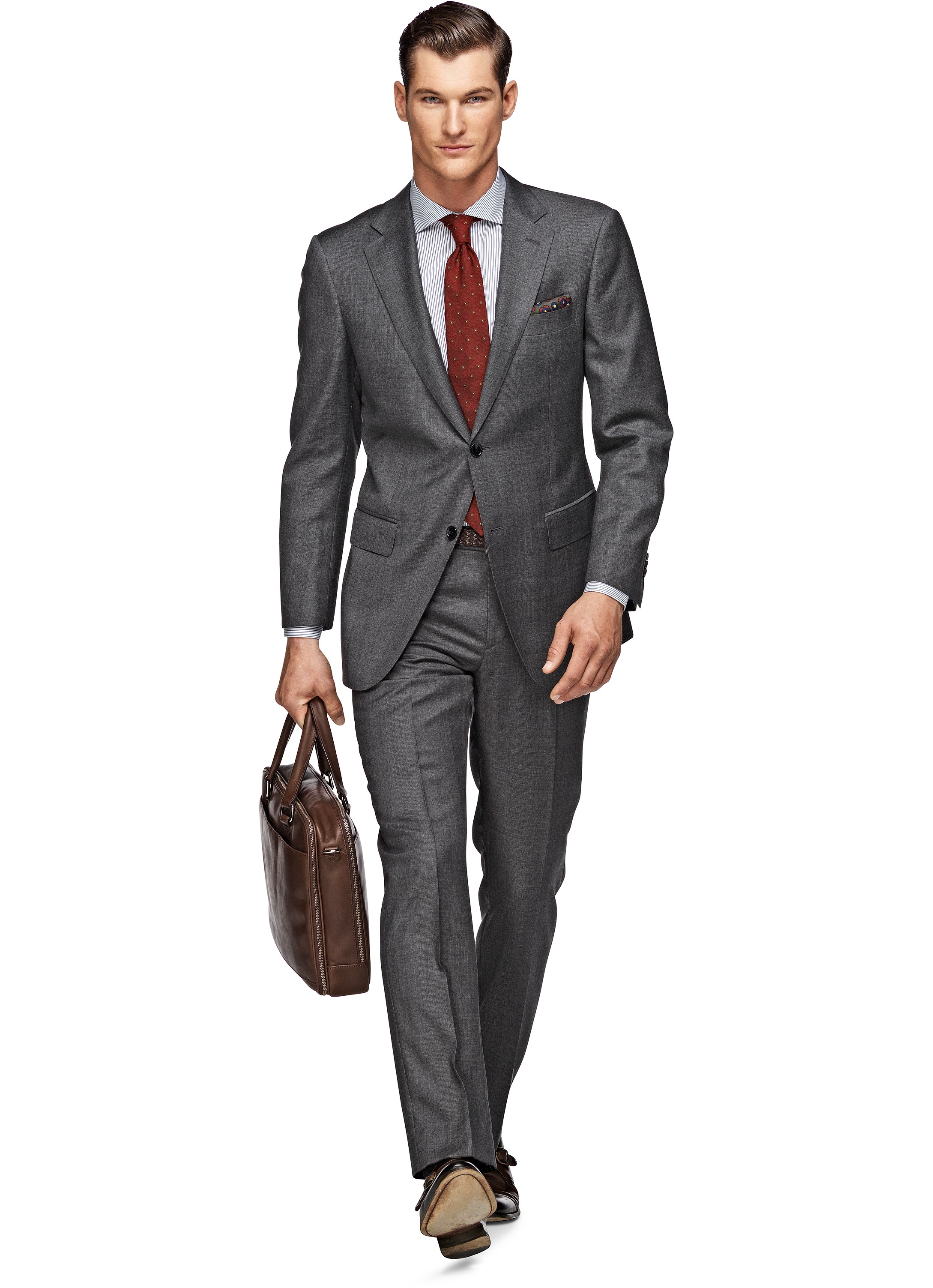 Suit Supply Napoli Staple Gray 38R - $250 OBO