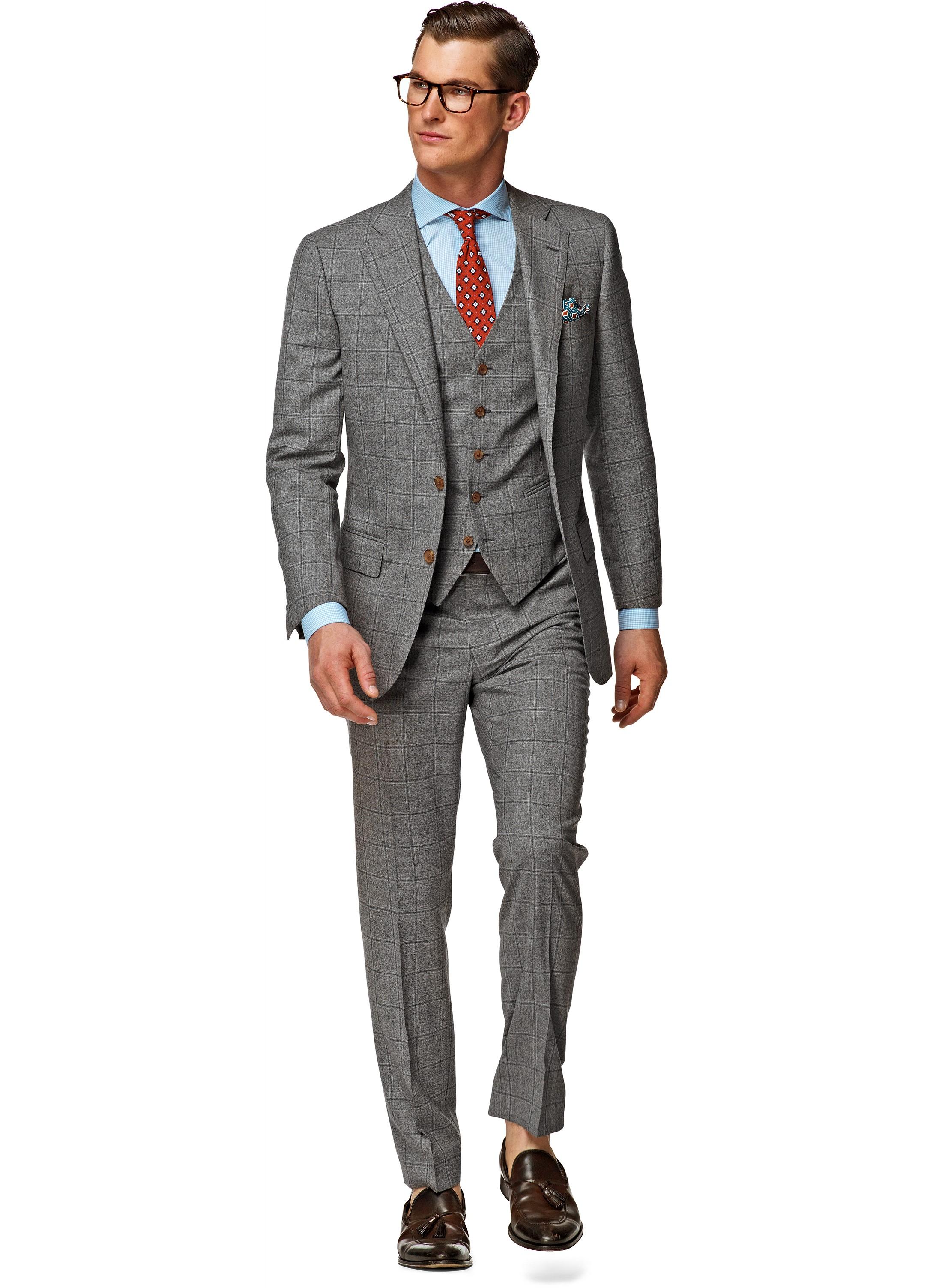 Matching Shirt Patterns To Windowpane Suit Advice Ask