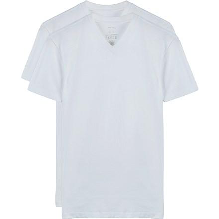 White_T-shirt_V-Neck_2-Pack_TS001