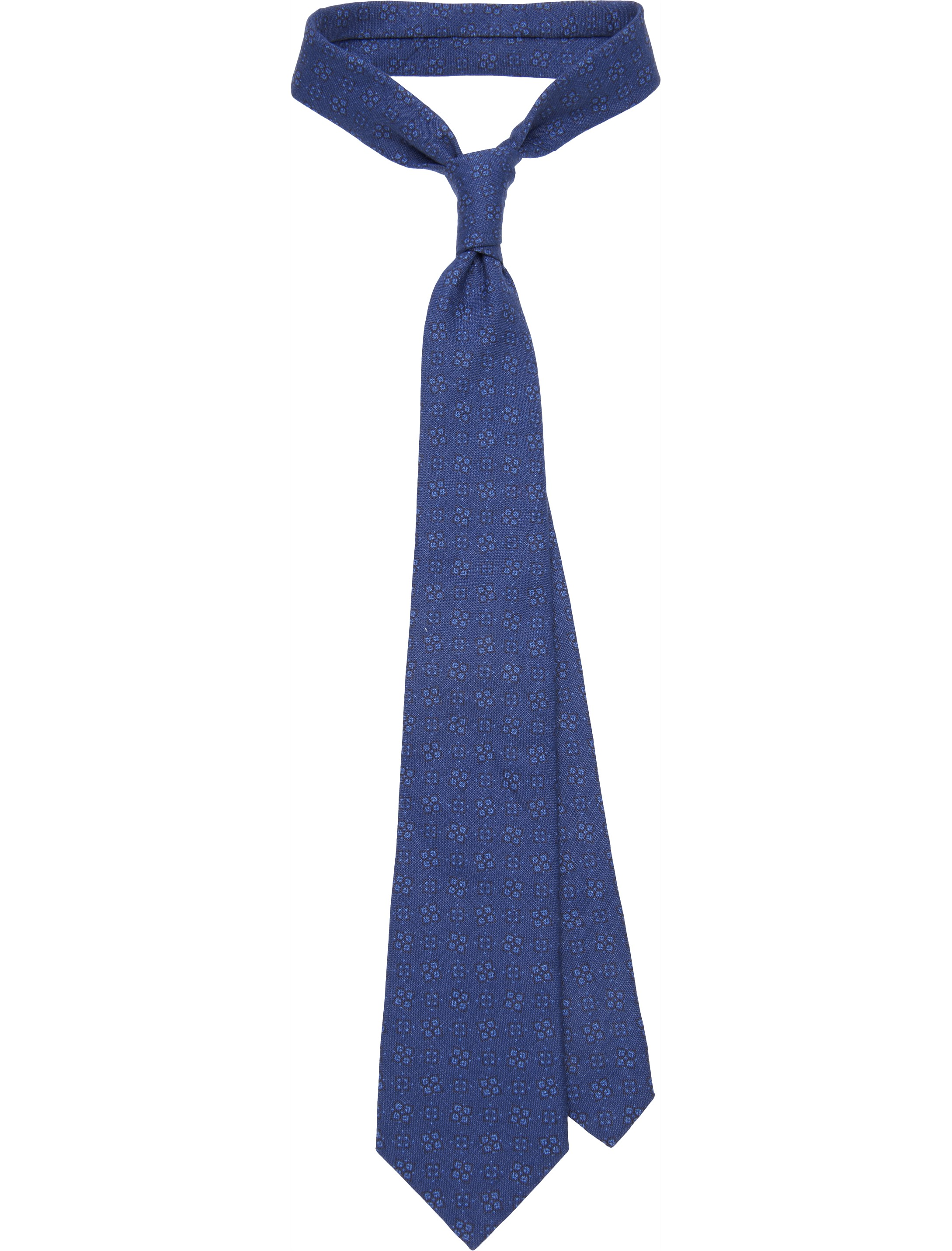 领带餐巾折花图解