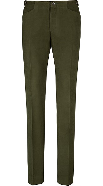 Jort Green Trousers
