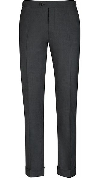Jort Grey Fishtail Trousers