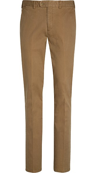 Light Brown Washed Chino