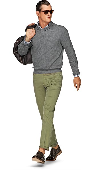 Washed_Green_Chino_B275I
