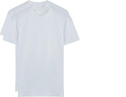 White T-shirt Round Neck 2-Pack