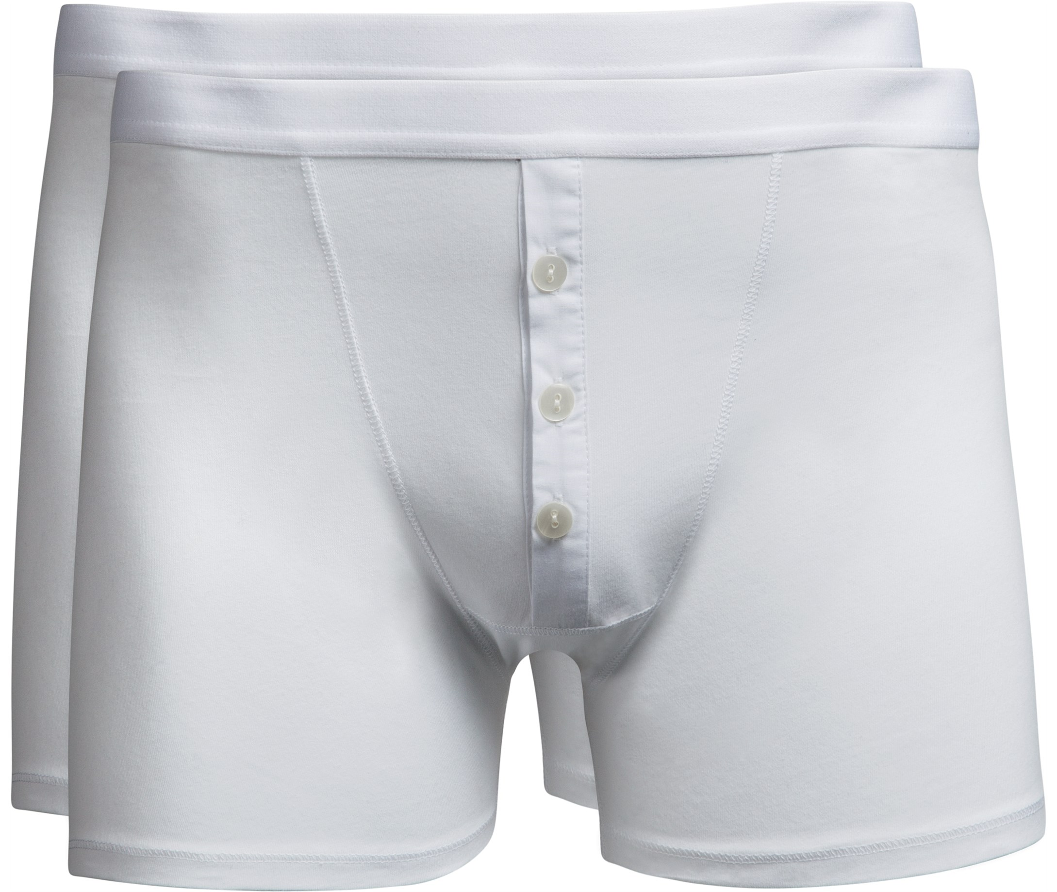 Free Shipping! White Boxers - Men's Underwear and Boxers at HisRoom.