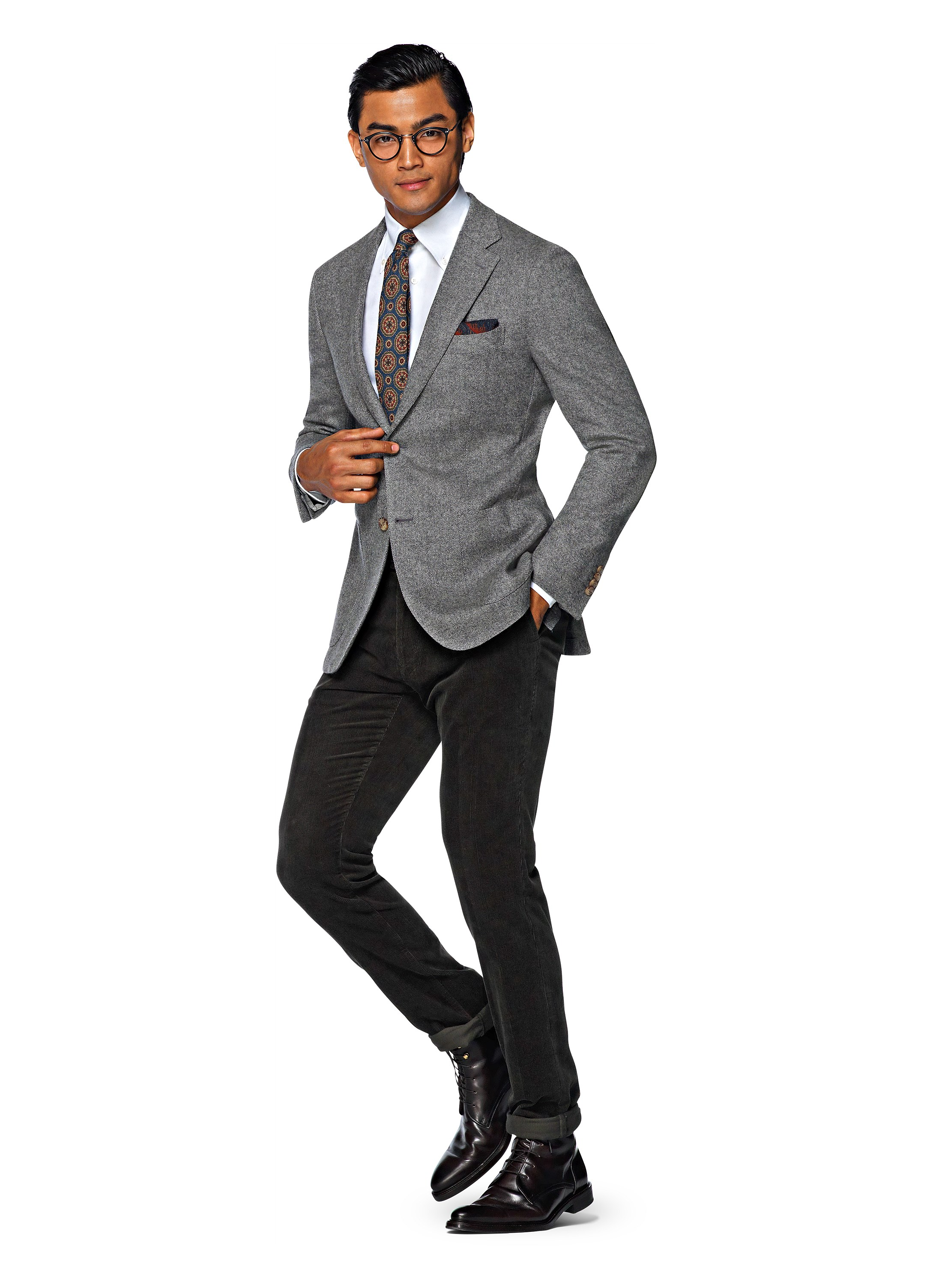 Gray Slacks Black Blazer : Gray.biji.us